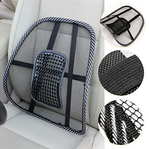 Mesh-Back-Support-Lumbar-Lower-Cushion-Car-Seat-Posture-Corrector-Pain-Relief