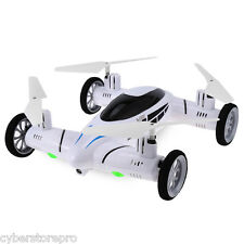 New SY X25 2.4G RC Quadcopter Flying Car Land / Sky 2 in 1 UFO with 2.0MP Camera