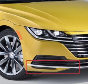 Neuf-Original-VW-Arteon-Avant-Pare-Choc-Chrome-Bord-Moulure-Droit-3G88532542ZZ