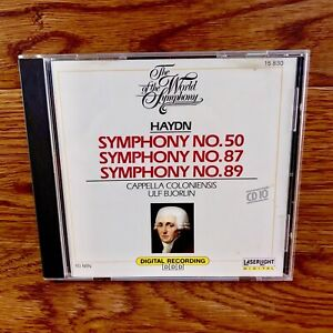Haydn-Symphony-No-50-87-89-The-World-Of-The-Symphony-Classical-Music-Cd-No-10