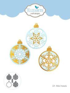 Elizabeth Craft Design Die Winter Ornaments 1574