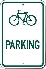 12x18 Bicycle Parking Symbol 3M Engineer Grade Prismatic Reflective Alumn. Sign
