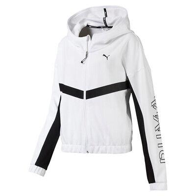 PUMA HIT Feel It Sweat Jacket Damen Jacke FZ weiss 518323 05 | eBay