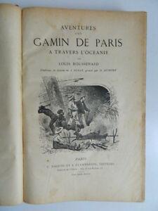 Boussenard Louis Aventuras D'Un Niño París Oceanía Marpon Flammarion SD