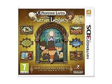Professor Layton & the Azran Legacy (Nintendo 3DS, 2014) French & English VG f/s