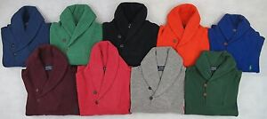 Ralph-Lauren-Men-Shawl-Collar-Neck-Jumper-Sweater-Brand-New