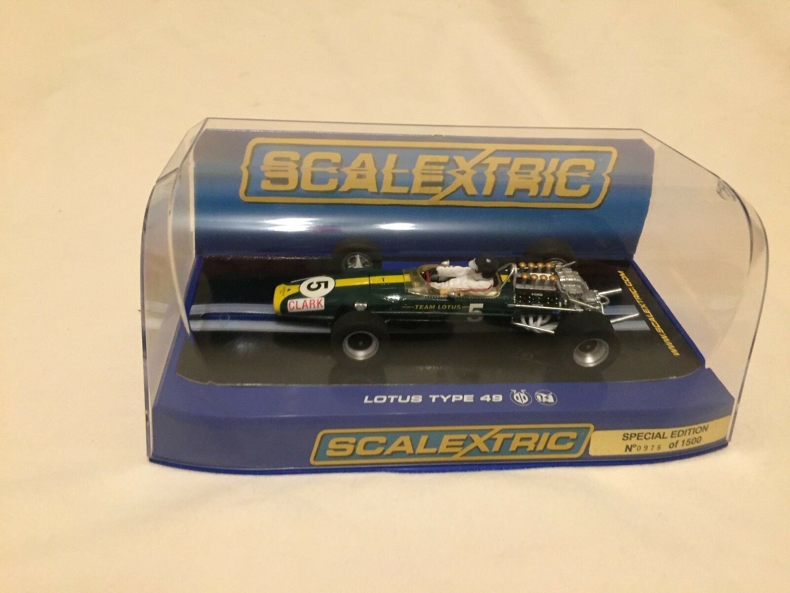 New Scalextric Lotus 49 Cosworth DFV Jim Clark No5 1967 C3222 Limited Edition