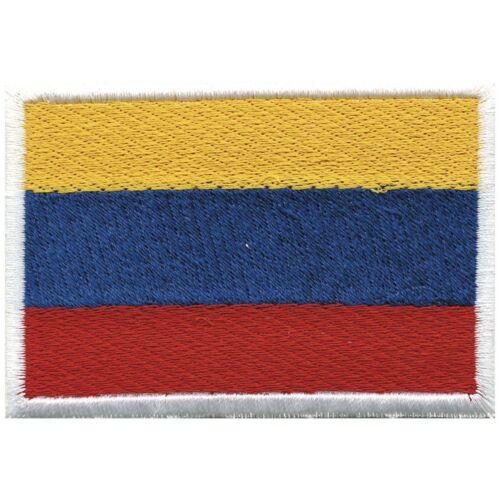 Aplicación Patch coser Stick-emblema banderas del mundo colombia ☆ 20459 ☆