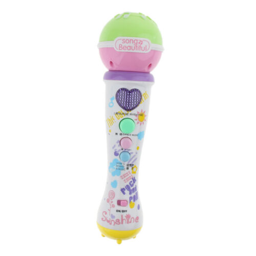 Instruments Musical Microphone Sing Toys for Child Preschool Game Xmas Gifts