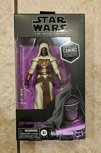 Star Wars Black Series Jedi Knight Revan New Gamestop Gaming Greats In Hand