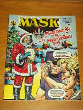 MASK #37 26TH DECEMBER 1987 IPC BRITISH WEEKLY MAGAZINE
