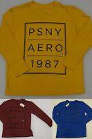 Aeropostale Psny Youth Kid's Long Sleeved Tee T-shirt Aero 1987