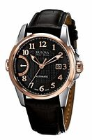 Bulova Accutron Men's 65B154 Accu Swiss Calibrator Automatic Rose Gold Watch