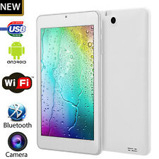 7 inch Tablet PC Android 4.4 Quad core Pad 8GB Dual Camera Wifi Bluetooth GPS UK