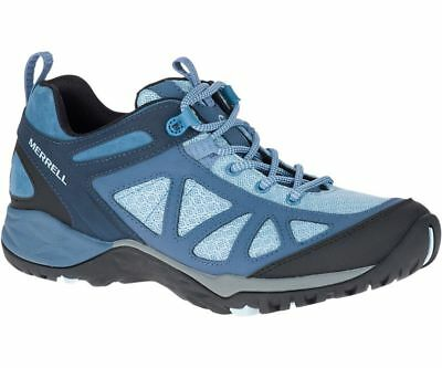 Merrell Siren Traveller Q2 Leather Womens Walking Shoes Brown Outdoor Hiking