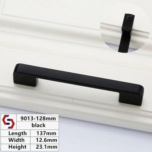 Black Fashion Furniture Handle Cabinet Handles Drawer Knobs Pulls Hardware