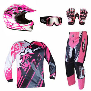 Youth Dirt Bike Boots >> Details About Kids Motocross Helmet Pants Jersey Gloves Goggles Mx Dirt Bike Gear Junior Youth