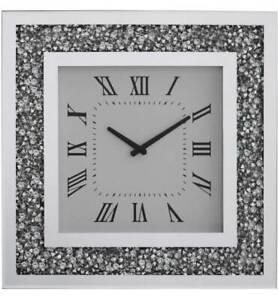 Gatsby-Mirror-Clock-Modern-Elegant-Square-Silve-Diamond-Crystal-Wall-Clock-50cm