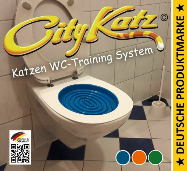 CityKatz⭐WC-Sitz Training System ✔️Katzentoilette ✔️Katzenklo ✔️WC-Trainingssitz