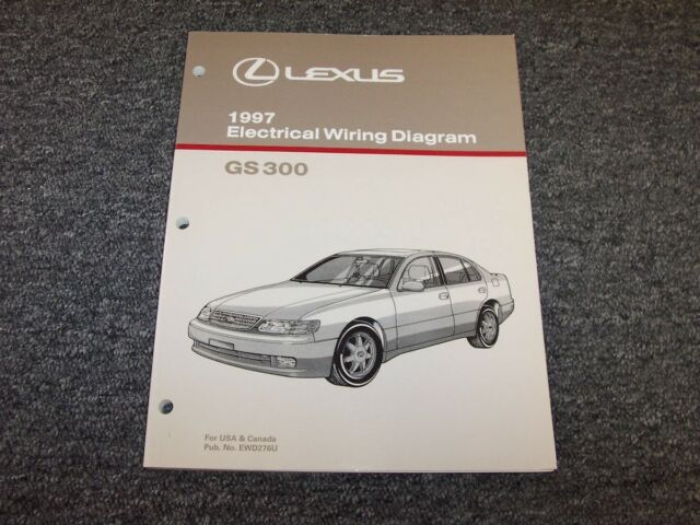 1997 Lexus Gs300 Sedan Factory Original Electrical Wiring