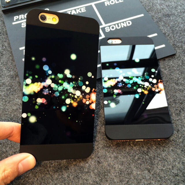 Luxury Slim Mirror Matte Plastic Hard Back Case Cover For iPhone 5 6 6s Plus SE