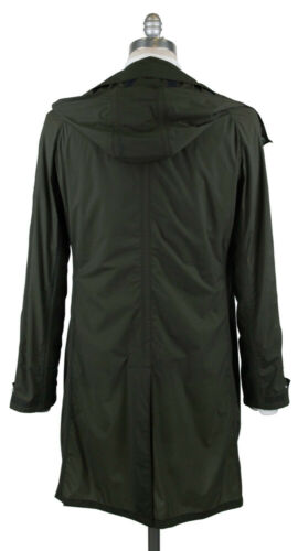 LAGOA610353 Details about  /New $1600 K-red by Kiton Green Water Proof Raincoat