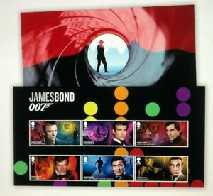 2020-James-Bond-007-Character-Stamps-Set-Mint-never-hinged