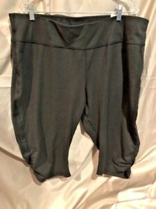 Aspire-Women-039-s-Fitted-Regular-Comfort-Stretch-Capri-Size-3X-NEW