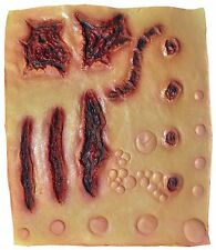 COSTUME LATEX SCAR SHEET WOUND CUT PROSTHETIC SPECIAL EFFECT BULLET MAKEUP