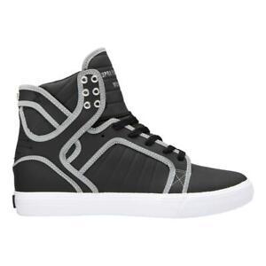 SUPRA NEW Men/'s Method Shoes Black//White//Black BNWT