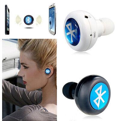 Bluetooth Wireless Mini In-Ear Headphones Headset Stereo Earphone Smallest us xp