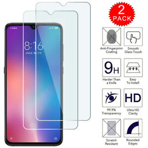 For-Xiaomi-Redmi-7-Premium-HD-Clear-Tempered-Glass-Screen-Protector-2-Pack