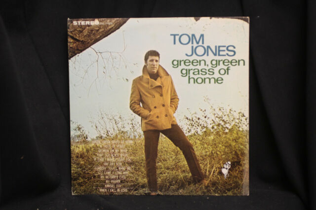 Tom Jones Green Green Grass of Home - London Parrot Records