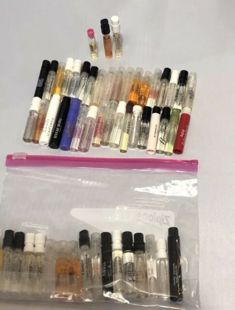 Perfume SAMPLE VIAL Lot of 20 Mixed Designer &more 1.5ml EACH pic and choose