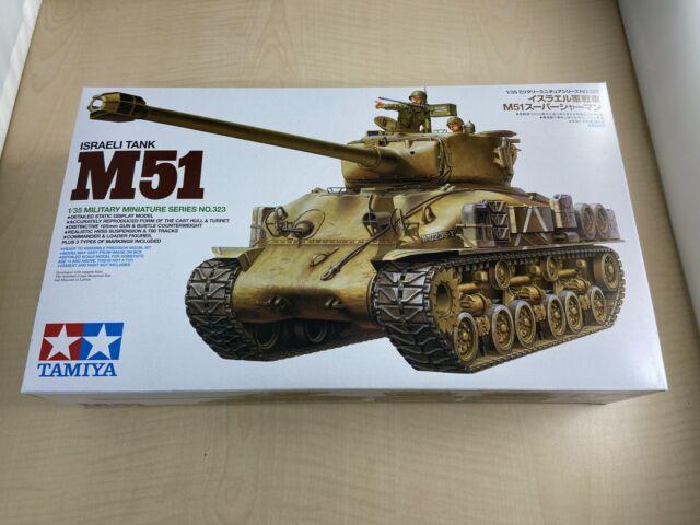 Tamiya 35323 1//35 Israeli Tank M51 Super Sherman for sale online