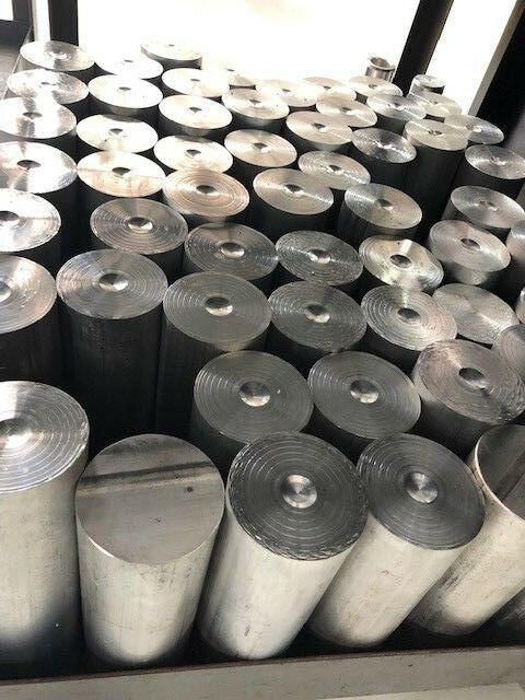 "3//4/"" X 4 3//8 circle   ALUMINUM 6061 Solid Plate Mill Stock .75 thick"
