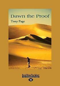 Dawn-the-Proof-Large-Print-16pt-by-Page-Tony-Paperback