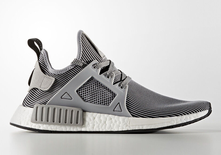 Adidas NMD_XR1 Primeknit PK Nomad Boost Light Granite Grey Grey Grey Vintage White S32218 a06eaa
