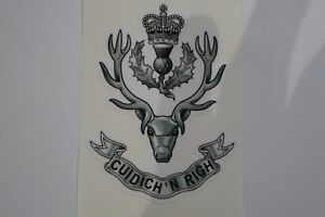 2-X-Queens-Own-Highlanders-Regiment-BRITISH-ARMY-MILITARY