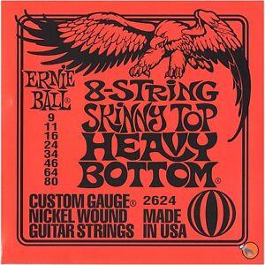 Ernie-Ball-2624-8-String-SKINNY-TOP-HEAVY-BOTTOM-Cordes-pour-guitare-electrique-9-80