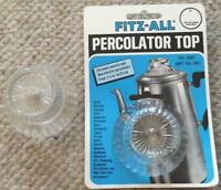 Fitz-all 246 Percolators, Replacement Top Tops Manufacturing Co.