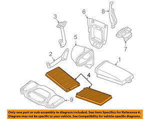 BMW-OEM-03-08-760Li-Cabin-Air-Filter-64119272643