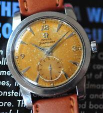 STUNNING Vintage 1953 Omega Seamaster Watch C 344 Bumper Original TROPICAL Dial