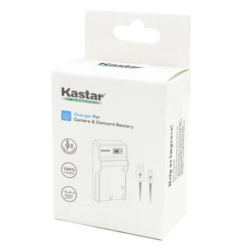 Kastar Batería Cargador LCD Para JVC BN-VF808 BN-VF808U y Videocámara JVC GZ-MG130