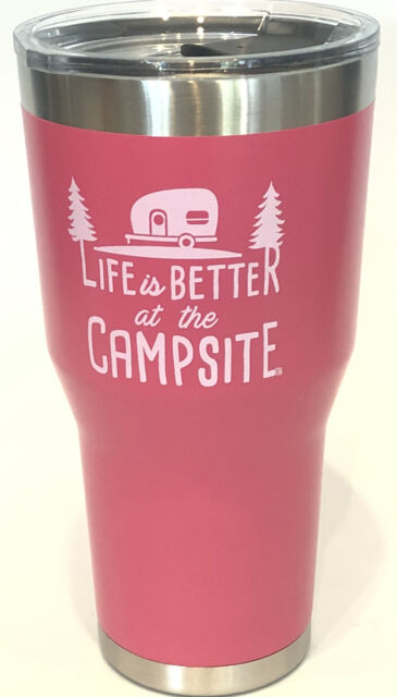 """CAMCO Tumbler """"Life is Better at the Campsite"""" 30 oz ..."""
