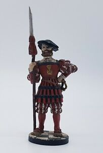 FRANKLIN MINT Halberdier Yeomen of the Guard 1520s 60mm Military Figure Soldier