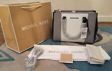 BNWT Michael Kors Medium Tricolor Saffiano Leather Sutton Bag Satchel