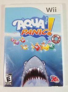 Nintendo Wii Aqua Panic! - Complete w/Game, Manual, Disc -Works Great -FREE SHIP