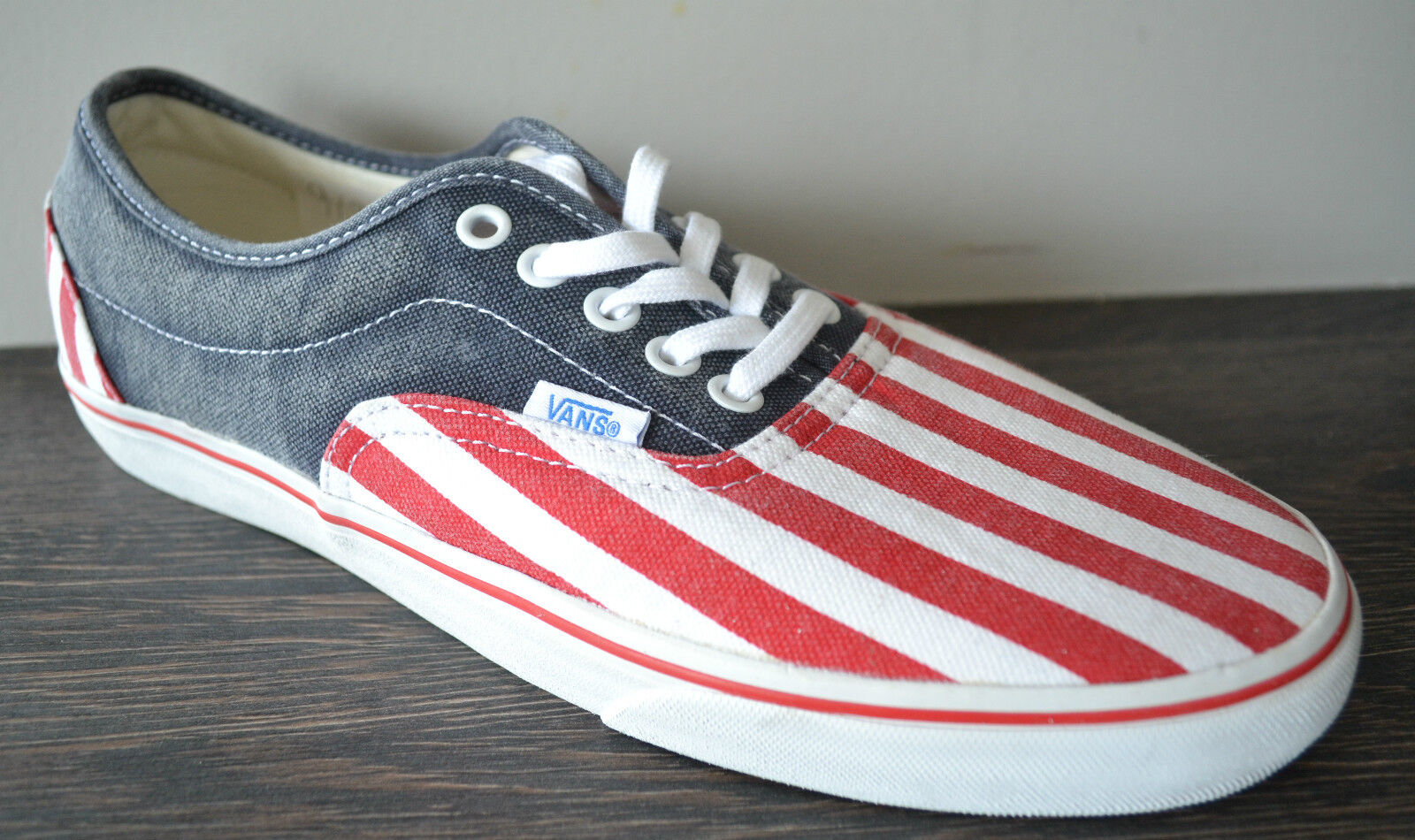 Vans Unisex LPE CA (Washed) (Washed) (Washed) Red / White/ Blue  Canvas L9R5Q8 a14b89