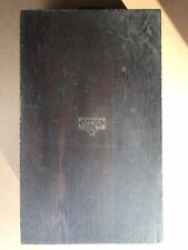 Vintage Stanley Tools Wood Tool Chest Box 862 Sweetheart Logo